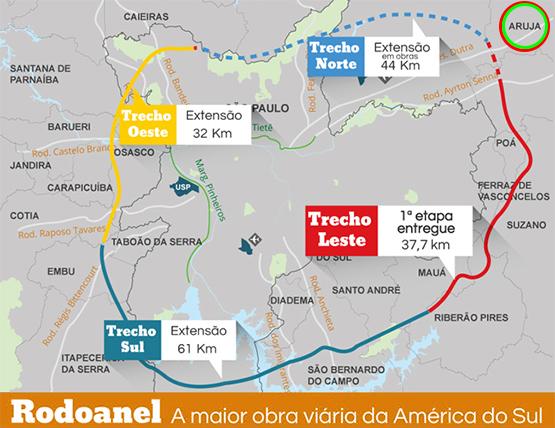 mapa-rodoanel-em-aruja